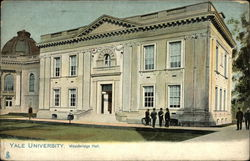 Yale University - Woodbridge Hall Postcard