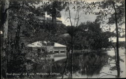 Wellesley College - Boat House and Lake