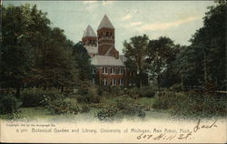 University of Michigan - Botanical Garden and Library