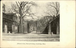 Johnson's Gate at Harvard College