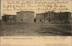 Dormitories at Lafayette College
