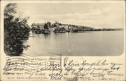 View of University of Wisconsin and Lake