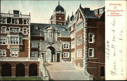 University of Pennsylvania - Entrance to Dormitories
