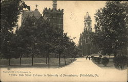 34th Street Entrance to University of Pennsylvania