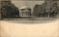 South Front Rotunda, University of VA.