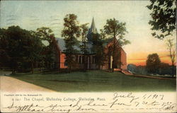 The Chapel, Wellesley College