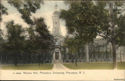Nassau Hall at Princeton University