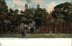 Yale University - Phelps Hall Gateway Postcard