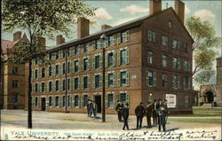"Yale University,""Old South Middle"" Built in 1750. Postcard"