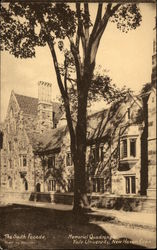 The South Facade - Memorial Quadrangle at Yale University
