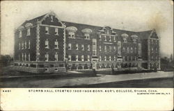Storrs Hall, Erected 1905-1906, Conn. Agr'l College