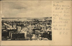 View from Dome of Court House Postcard