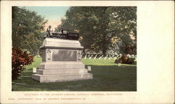 Monument to the Andrews Raiders, National Cemetery
