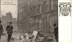 Ruins of Chinese Bureau, 1906 Disaster
