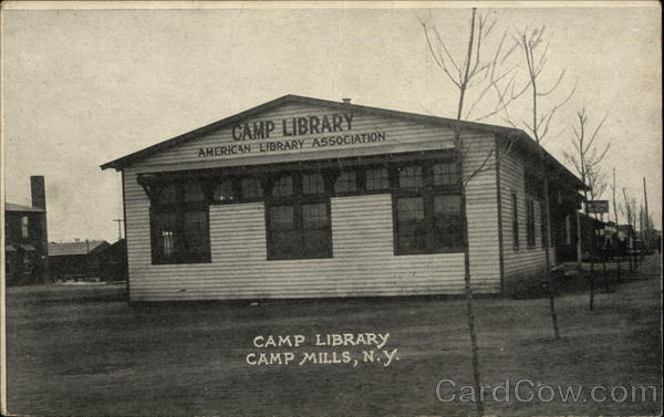 Camp Library Camp Mills New York
