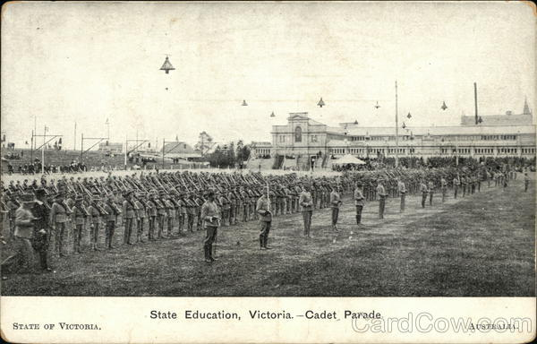 State Education, Victoria - Cadet Parade Australia