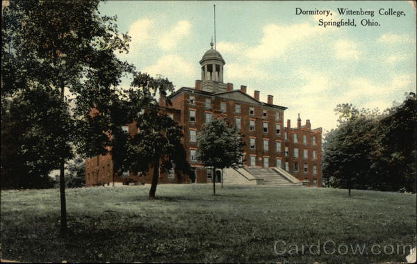 Dormitory at Wittenberg College Springfield Ohio