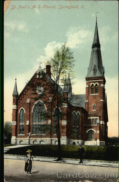 St. Paul's M.E. Church Springfield Ohio