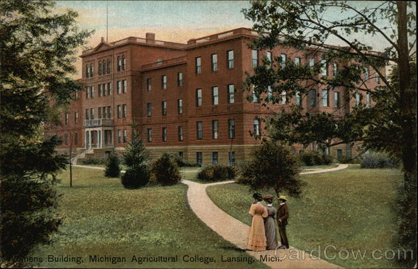 Michigan Agriculture College - Women's Building Lansing