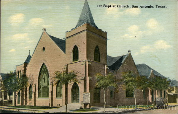 1st Baptist Church San Antonio Texas