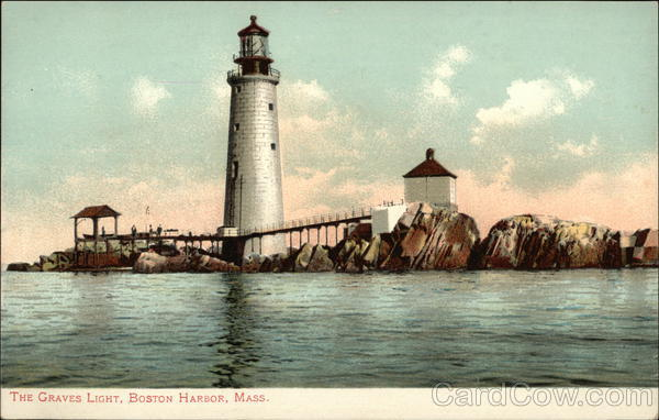 The Graves Light, Boston Harbor Massachusetts