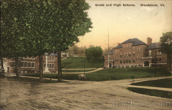 Grade and High Schools Woodstock Vermont
