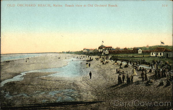 View of Beach Old Orchard Beach Maine