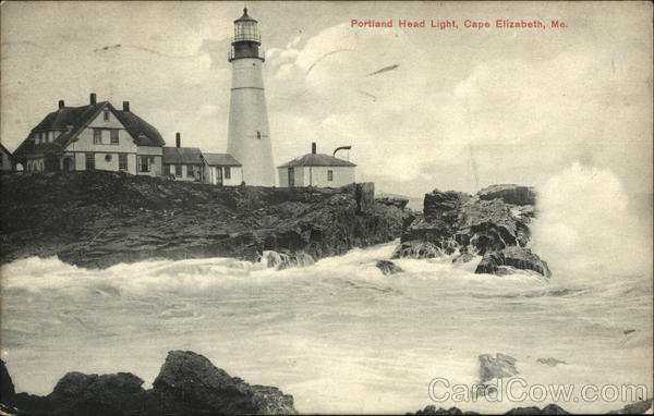 Portland Head Light Cape Elizabeth Maine Lighthouses