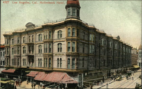 Street View of Hollenbeck Hotel Los Angeles California