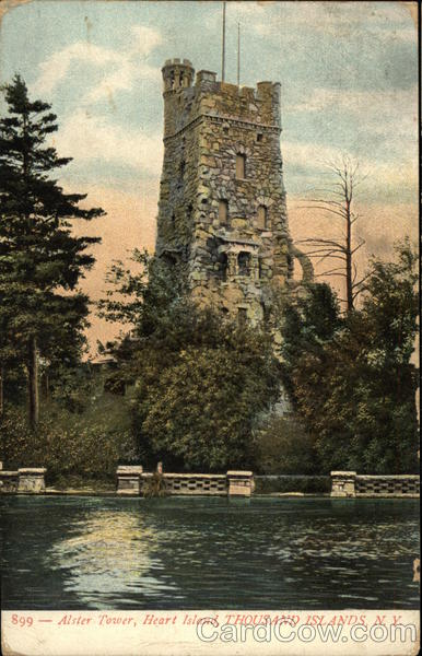 Alster Tower, Heart Island Thousand Islands New York