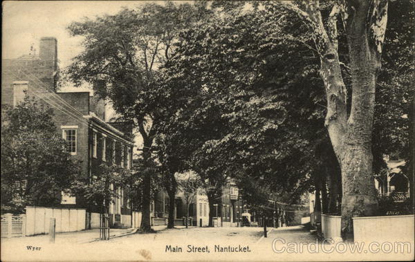 Main Street Nantucket Massachusetts