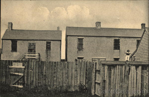 Old Jail, Built 1740 Nantucket Massachusetts