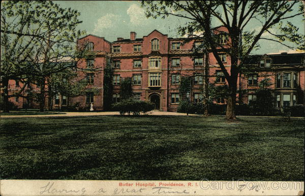 Butler Hospital and Grounds Providence Rhode Island