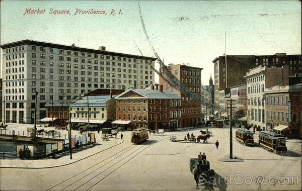 Market Square Providence Rhode Island