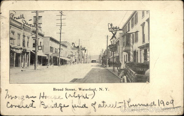 Broad Street Waterford New York