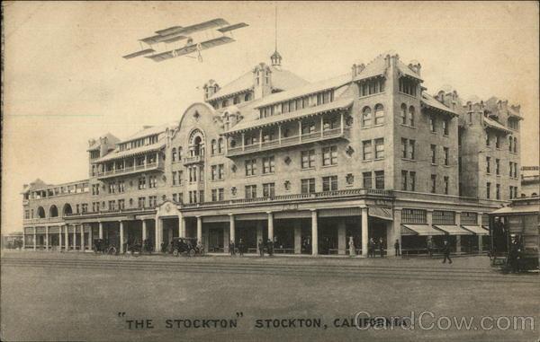 The stockton california postcard for Shirt printing stockton ca