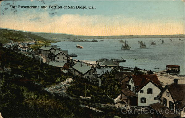 Fort Rosencrans and portions of San Diego, Cal. California