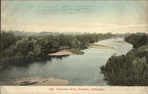 Tuolumne River Modesto California