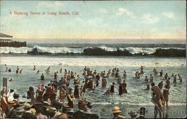 A Bathing Scene Long Beach California