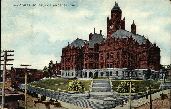 Court House Los Angeles California