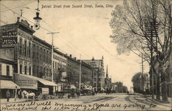Detroit Street from Second Street