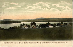 Northern Shore of Silver Lake (Franklin Pond) and Patten's Camp