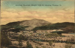 View of Town and Ascutney Mountain