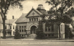 Kimball Public Library Postcard