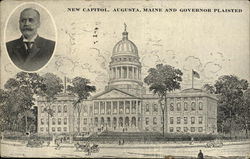 New Capitol and Governor Plaisted