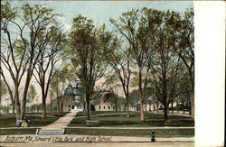 Edward Little Park and High School