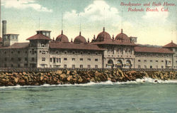 Breakwater and Bath House