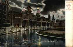 Johnstown Flood, Paragon Park by Moonlight