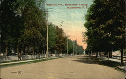 Highland Ave., North from Armory