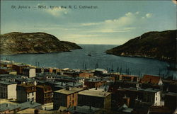View from R.C. Cathedral Postcard